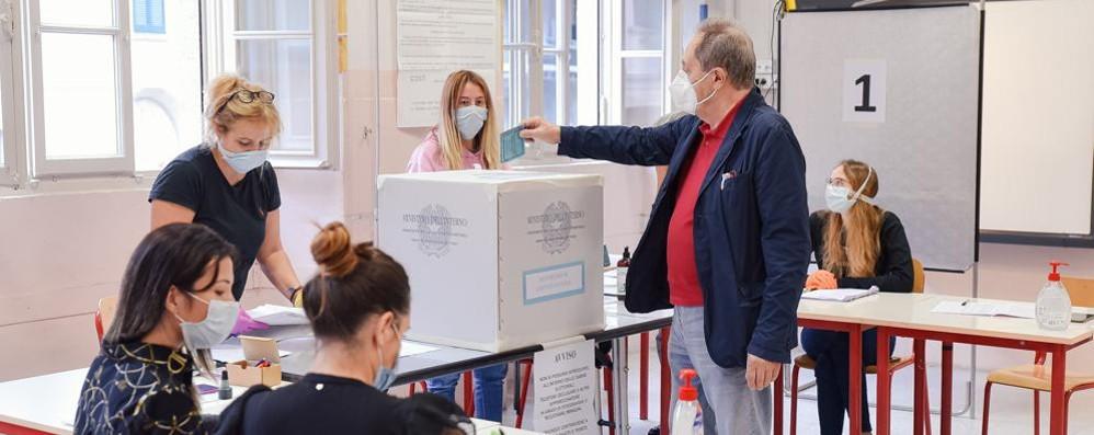 Referendum: l'affluenza  definitiva nei Comuni comaschi