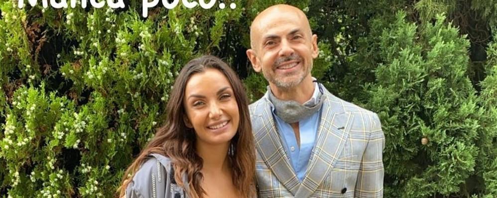 Tremezzina, blitz Elettra Lamborghini  Prove di nozze a Villa Balbiano