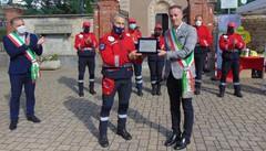 Figino, la prima benemerenza civica  Assegnata all'associazione carabinieri