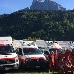 Sette ambulanze e 26 volontari  Lipomo pronto per il Giro d'Italia