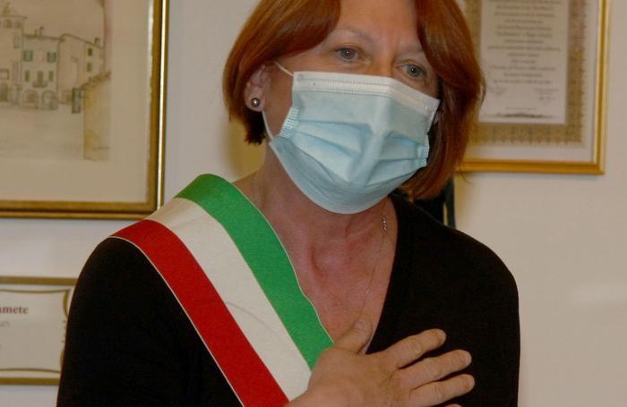 L'intervento del sindaco Laura Romanò