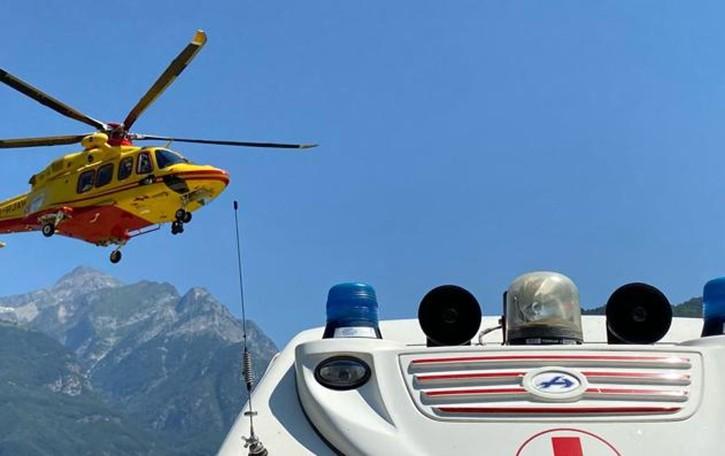 Escursionista soccorso  al Pian delle Alpi