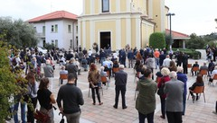 In tantissimi a Ronago  per l'ultimo saluto a Russo
