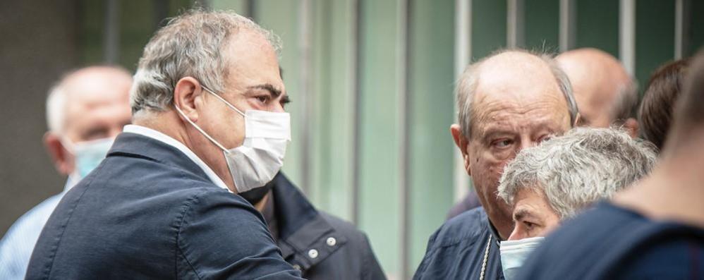 La lettera ai comaschi  del sindaco Landriscina  «Tragedia imprevedibile»