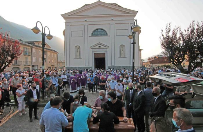 Morbegno Cosio Regoledo Funerali di Don Roberto Malgesini