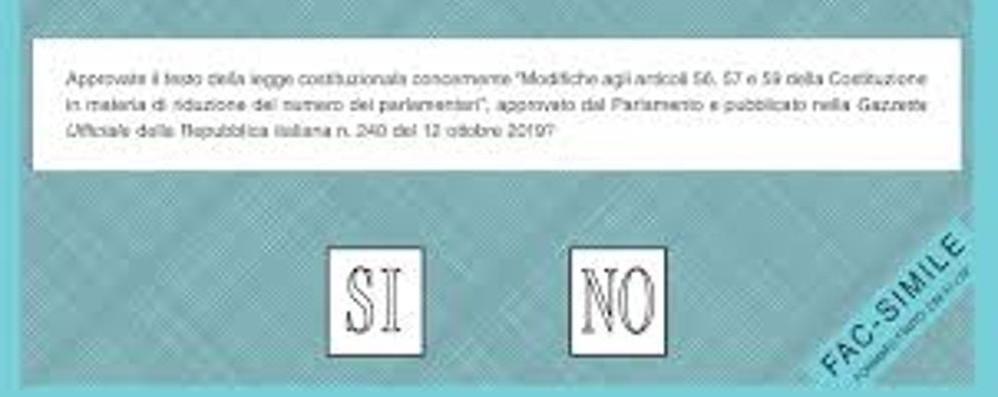Referendum, due giorni per votare  Il seggio speciale Covid a casa di 11 malati