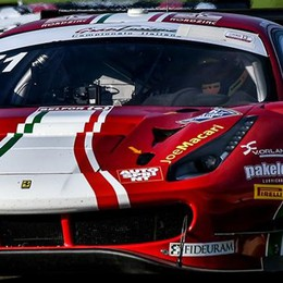 Roda in Gt a Vallelunga  da leader della classifica