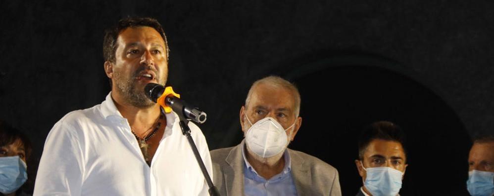 Salvini su don Roberto  «Ucciso da un clandestino,  bisogna spedirli  a casa»
