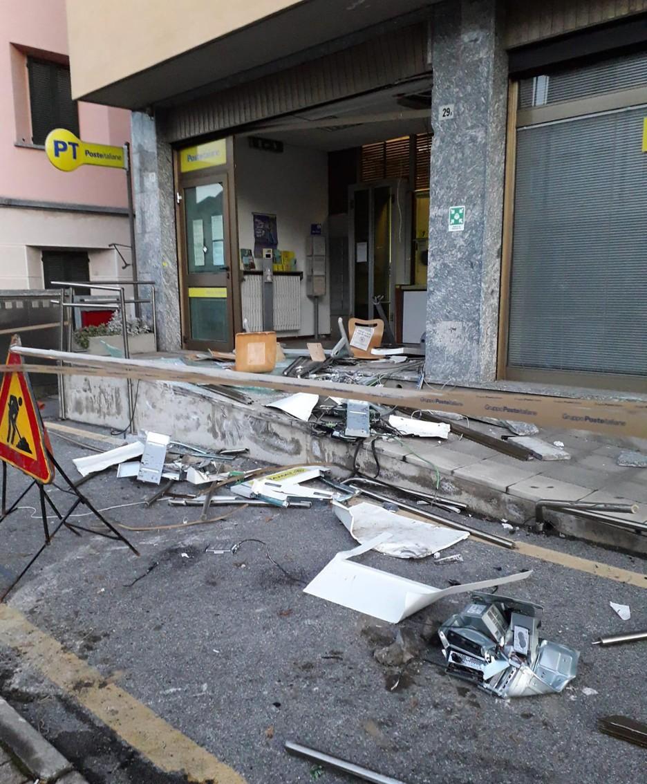 Un'altra immagine dei danni