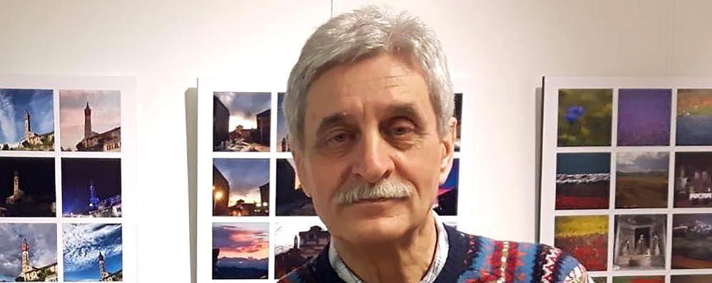 Addio al fotografo dei canturini  Carlo Ricci vinto dal male a 75 anni