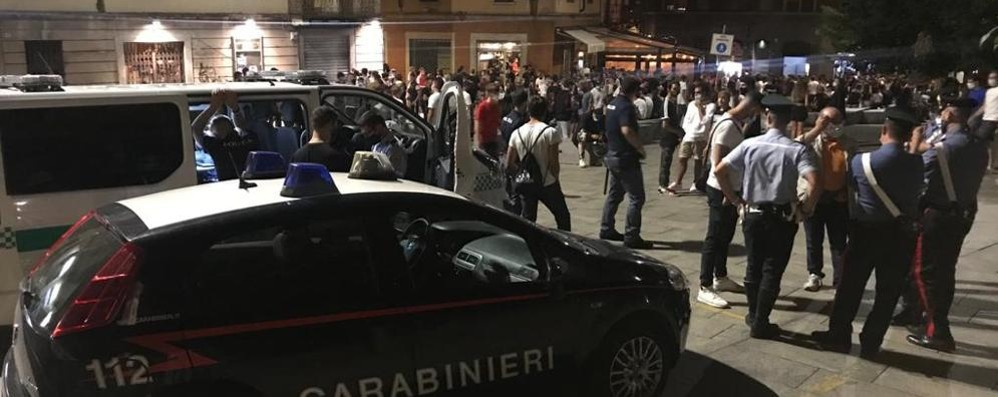 Cantù, spaccio durante la movida I carabinieri arrestano 7 persone