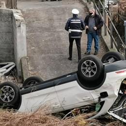 Precipita con l'auto in un cantiere  Incidente mortale a Cernobbio