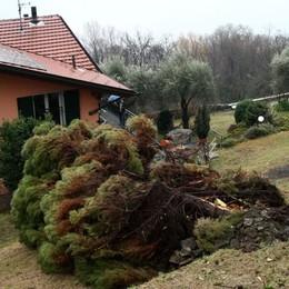San Siro, il macigno sulla casa  «La terra tremava, poi il boato»