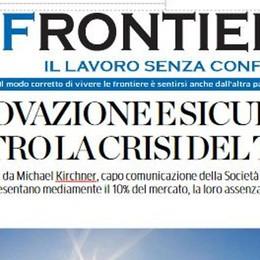 """""""Frontiera"""": l'inserto  in regalo con La Provincia"""