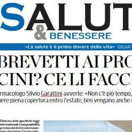 Salute&Benessere  Garattini: «I vaccini?  Via i brevetti ai produttori»