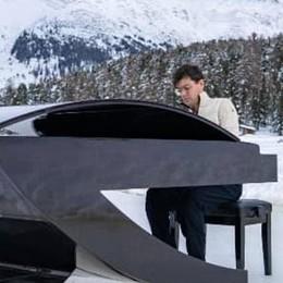 Il pianista sul lago ghiacciato  La musica magica di Martire