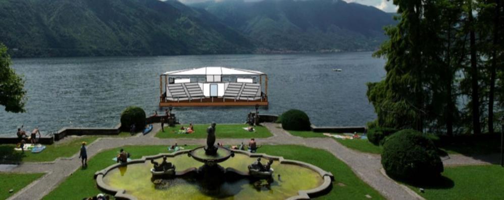La cultura riparte da un palco sul lago Dalla Regione un milione di euro