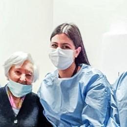 La grinta di Giuseppina, 100 anni  «Temete il virus non la vaccinazione»