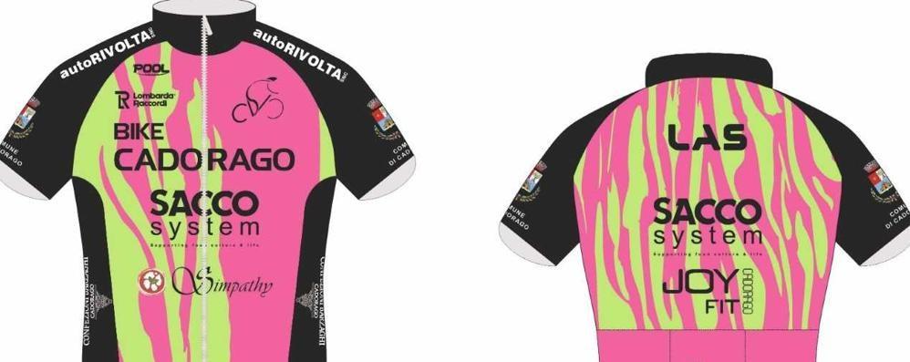 Nuova maglia Cadorago  Disegnata dagli studenti