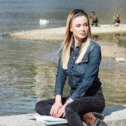 Diletta Leotta a Como: un video per il suo libro