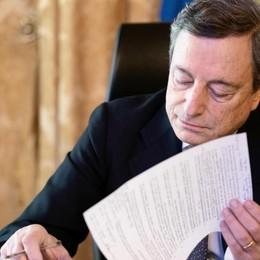 Draghi ha firmato il nuovo Dpcm  Sarà in vigore dal 6 marzo al 6 aprile