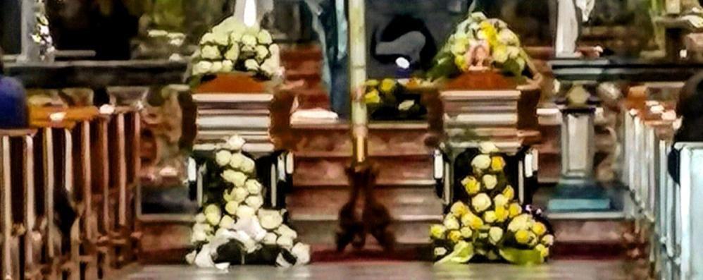 Mamma e figlio vittime del Covid  «Il Signore li ha accolti insieme»