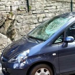 Scontro  frontale con un'auto  Ciclista soccorso a Faggeto