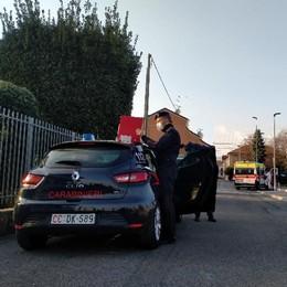 Arosio, ragazzo di 21 anni cade in moto   Ricoverato al Sant'Anna: non è grave