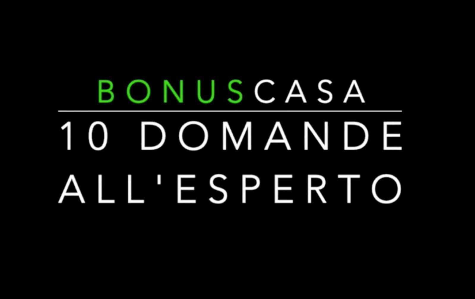 """Bonus 110%, la nuova rubrica per i lettori  """"10 Domande all'esperto"""""""