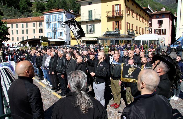 La commemorazione  del 28 aprile 2019 dei gerarchi fascisti fucilati a Dongo il 28 aprile 1945