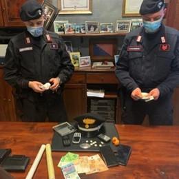 Carugo, tre arresti  per spaccio di droga
