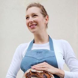 Dall'Olanda a Como  Non teme la crisi  e apre una bakery vegana