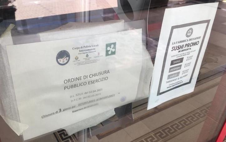Festa al ristorante con 50 ospiti  Blitz dei vigili di Cantù: chiuso