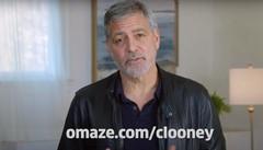 La lotteria di Clooney: «Chi vince mio ospite sul lago di Como»