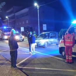 Olgiate, scontro auto moto  Due ragazzi feriti sulla Statale