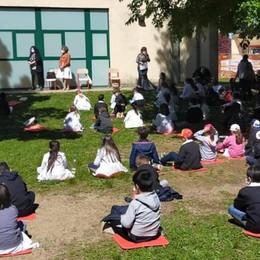 «A scuola si impara anche senza zaino»  Lomazzo, attività all'aperto sull'ambiente