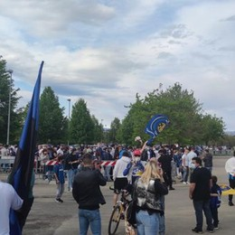 Inter: festa scudetto  Invasione in Pinetina