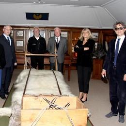 La conquista del Polo 50 anni dopo  «A Villa Balbianello rivive la storia»