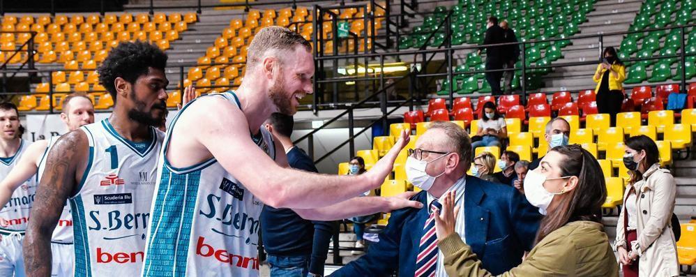 Lega Basket, assista Cantù  Gandini: «Valutiamo»