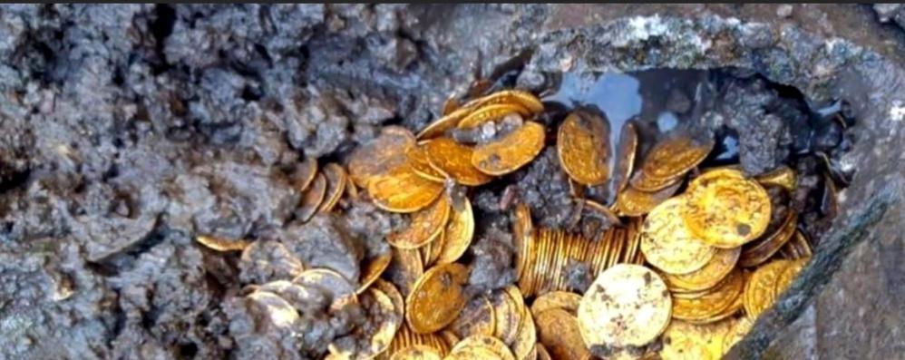 """""""L'ultimo bagliore di un impero""""  Como all'epoca delle monete d'oro"""