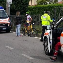 Olgiate, malore in tandem  Ciclista in ospedale