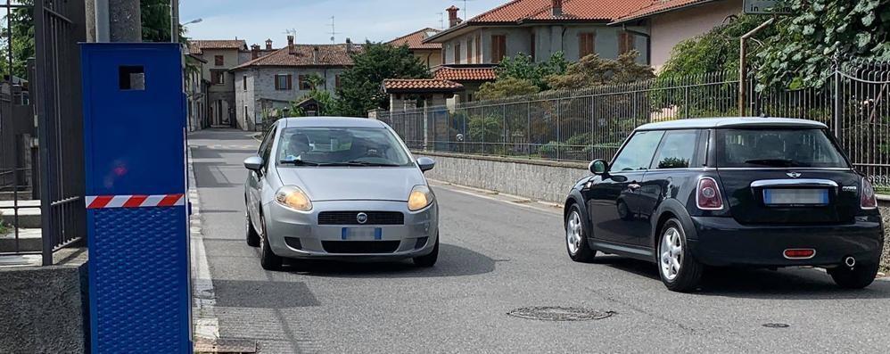 Albavilla, autovelox tarato a 30 all'ora  Linea dura del Comune in via Saruggia