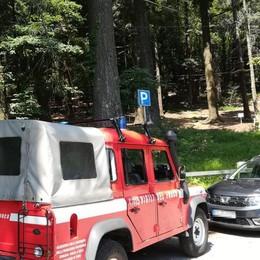 Albavilla, malore sul sentiero  Soccorso con l'elicottero