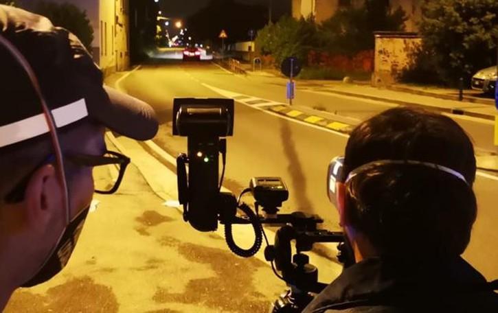 Controlli anti velocità e prostituzione  Venti multe in una sera con il telelaser