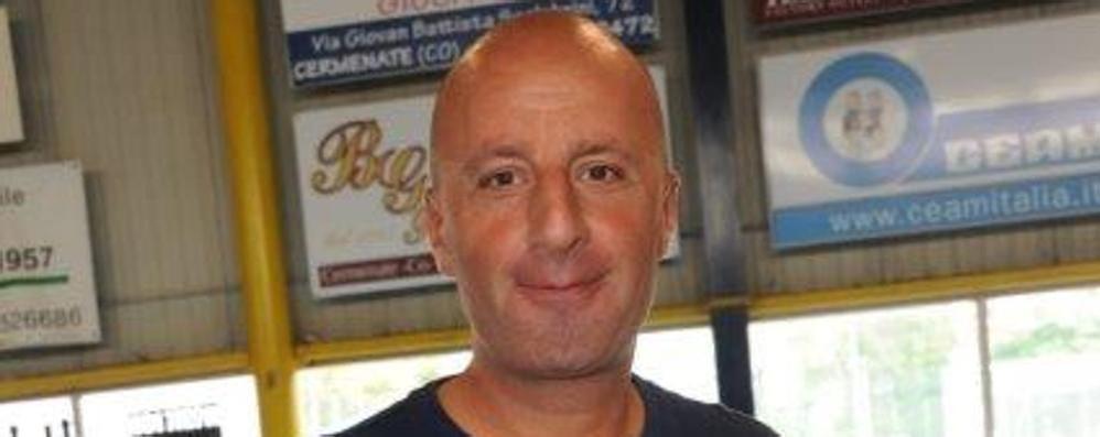 Di Landri, anima del Tavernerio Ora è allenatore e presidente