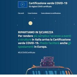 Draghi firma il Green Pass  Valido da luglio in tutta l'Ue
