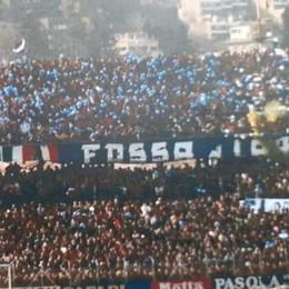 Il murale dei tifosi del Como Avanti con il progetto: i gadget