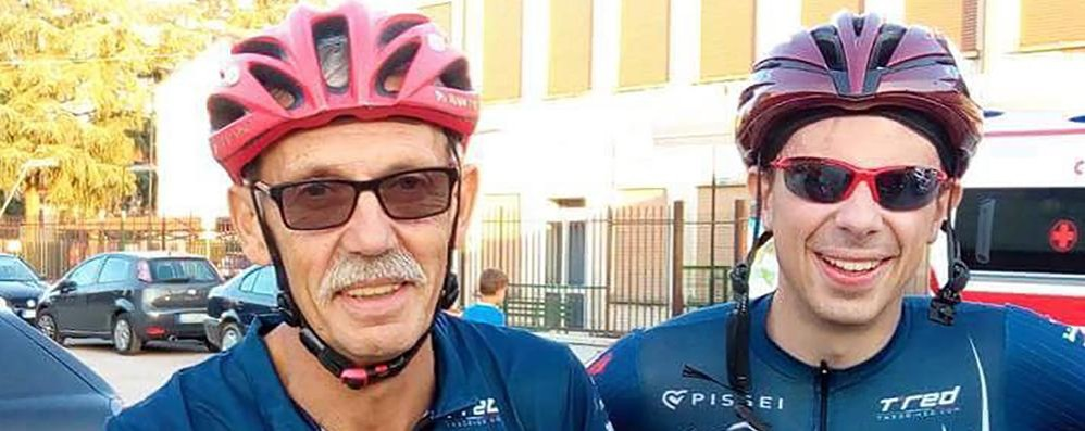 Lurago: «Papà si è svegliato dal coma»  L'incontro dopo l'incidente sul tandem