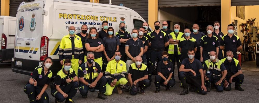 Protezione civile di Mariano  Nuovo mezzo e boom di volontari