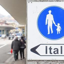 Riaperta  la frontiera  tra Italia e Svizzera  Zona franca sanitaria